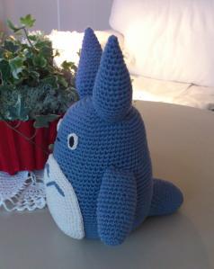 Blue Totoro crochet