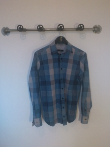Checked shirt - front