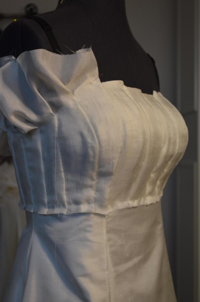 Draping on the front