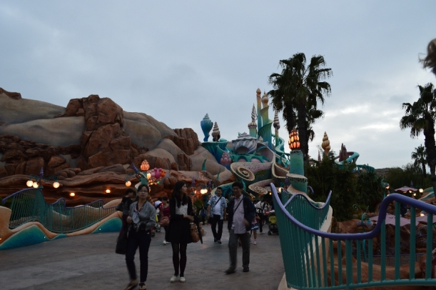 This is the entrance to the little mermaid lagoon.