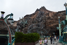 The Mysterious Island and the volcano Prometheus.