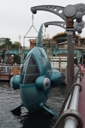 The cutest steampunk fish boat :D