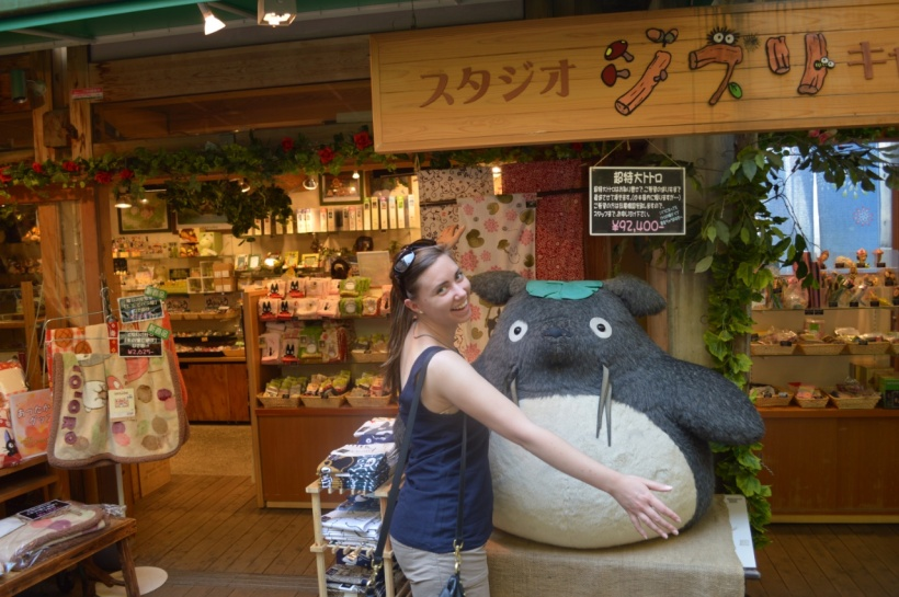 Totoro! If only you could fit in my bag!