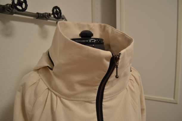 Minoru Jacket - Collar and Hood