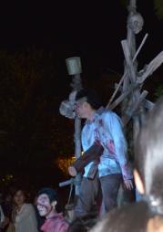 Hm... impaled zombie