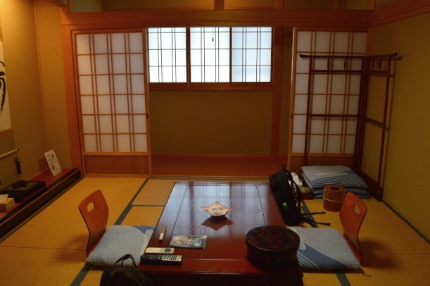 This was our room at Fudou-in.