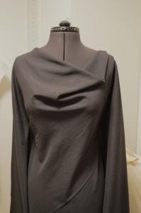 The initial drape